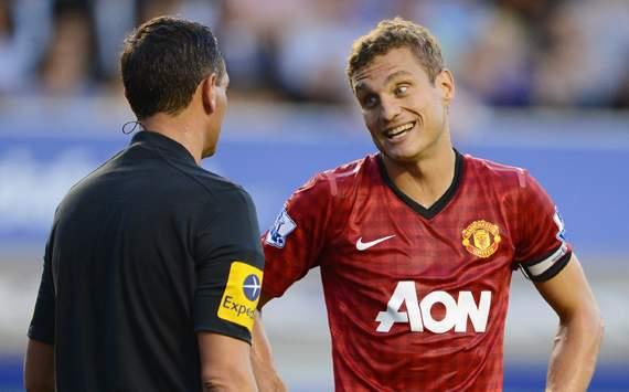 Vidic: I was fortunate not to concede penalty against Galatasaray