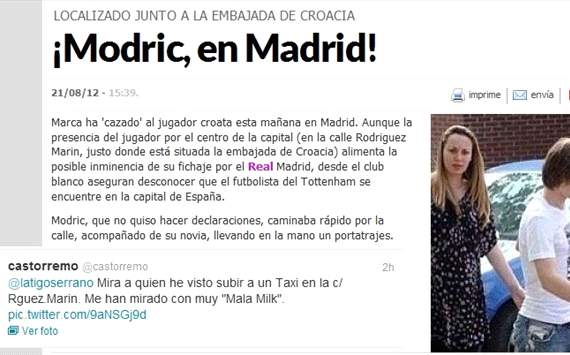 Marca pide disculpas tras su grave error en la noticia de Luka Modric