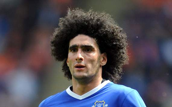Chelsea plot January raid for Fellaini as Lampard's long-term replacement