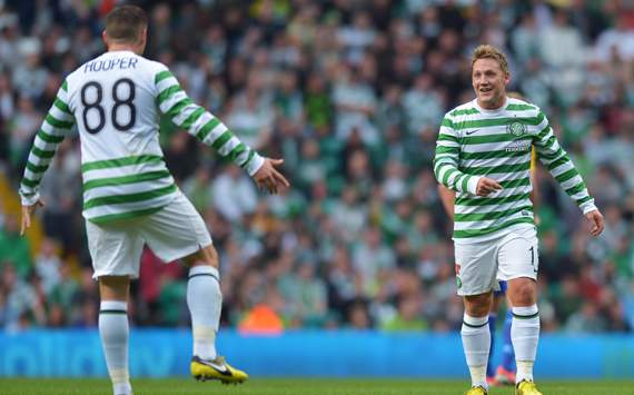 Celtic v HJK Helsinki, Kris Commons, Gary Hooper