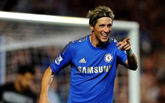 EPL: Fernando Torres, Chelsea v Reading