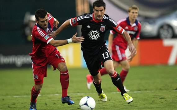 Gonzalo Segares, Chris Pontius, Chicago Fire, D.C. United, MLS