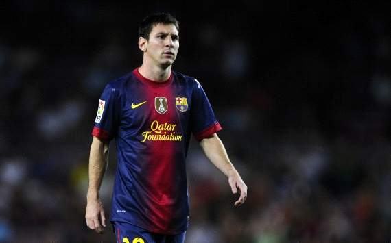 Lionel Messi, Barcelona, 2012-13
