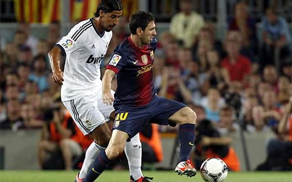 supercopa de espania (barcelona-real madrid)in camp nou