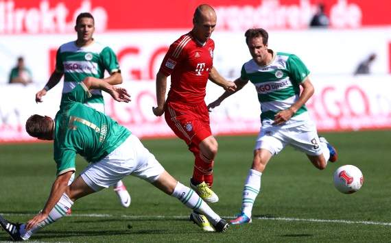 Robben: I have to be more selfish again