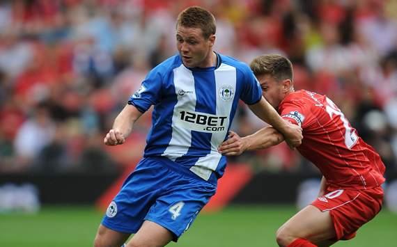 EPL, Southampton v Wigan Athletic, James McCarthy