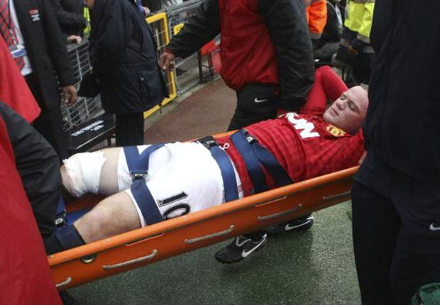 Sir Alex Ferguson: Rooney's injury a 'blessing' as now he can concentrate on his fitness