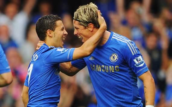 Eden Hazard - Fernando Torres (Chelsea vs Newcastle)