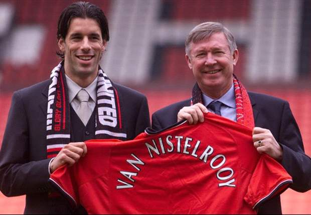 Van Nistelrooy 'grateful' to have played for Manchester United under Sir Alex Ferguson