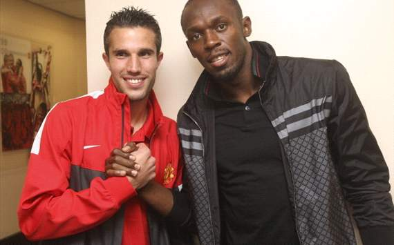Sign him up! Ten reasons why Usain Bolt is a better partner for Van Persie than Rooney