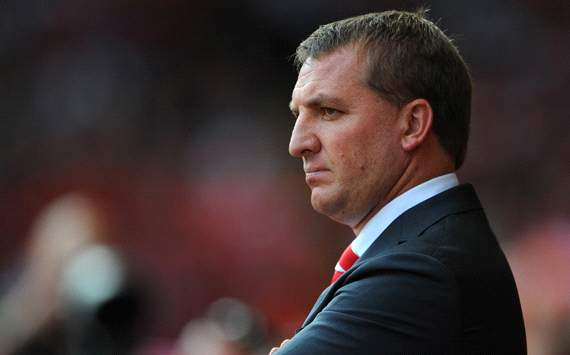 EPL: Brendan Rogers, Liverpool v Manchester City