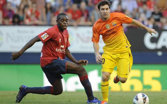 Raoul Loe, Lionel Messi, Osasuna, Barcelona
