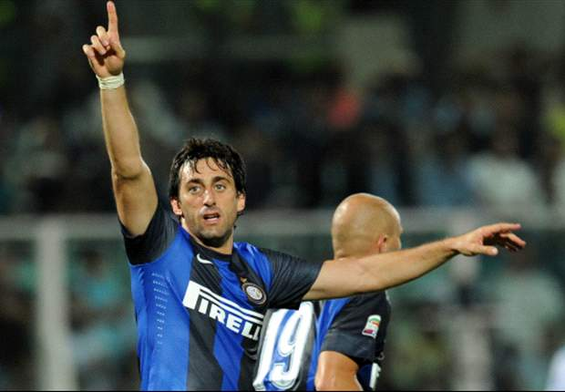Cassano is a fantastic player, says Milito
