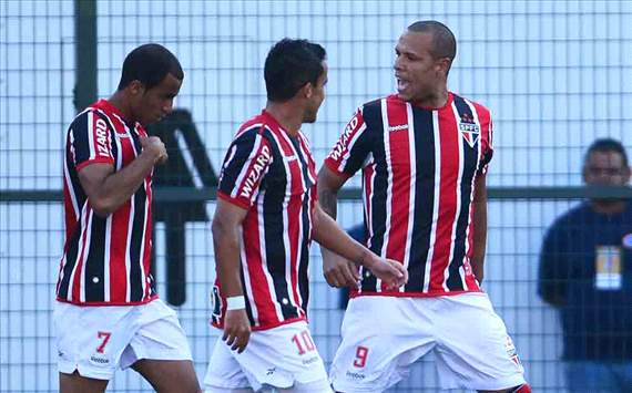 Luis Fabiano, Jadson, Lucas - So Paulo