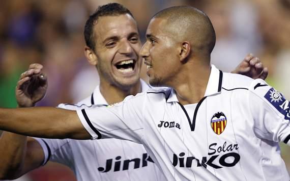 Roberto Soldado, Sofiane Feghouli, Valencia, Deportivo