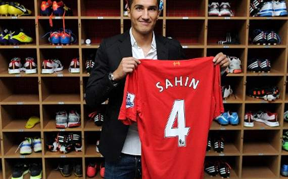 sahin official sign for liverpool