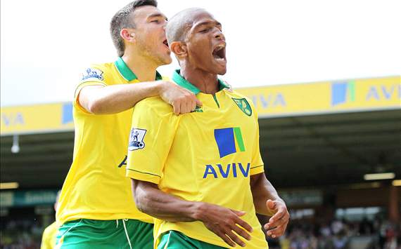 Robert Snodgrass; Simeon Jackson - Norwich City