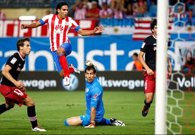 La Liga Round 2 Results: Falcao nets superb hat-trick as Atletico Madrid put four past Athletic Bilbao