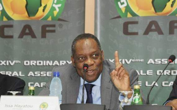 Issa Hayatou re-elected as Caf president