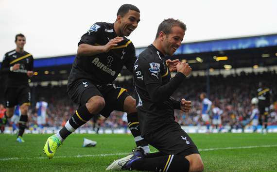 Tottenham put Lennon, Parker & Van der Vaart up for sale