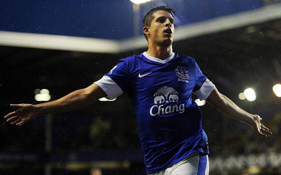 Everton forward Mirallas avoids lengthy layoff after hamstring scan