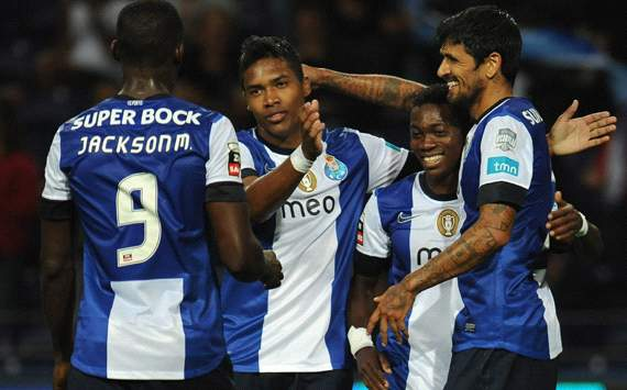 Porto celebrating