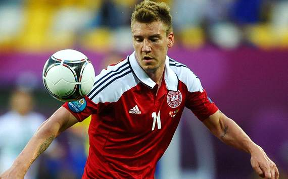 Juventus forward Bendtner is open to Arsenal return