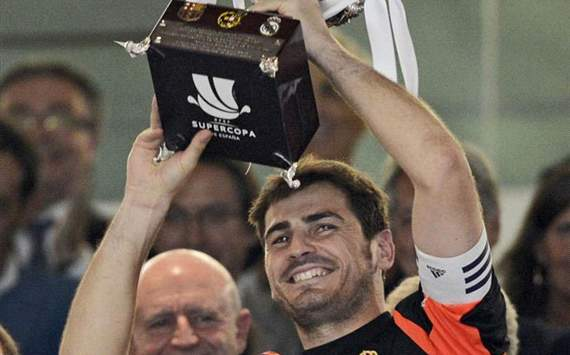 Spanish Supercup in hands of Iker Casillas