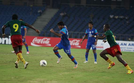 Nehru Cup Final Preview: Cameroon vs India 