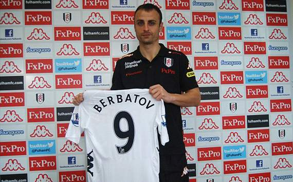 fulham berbatov official