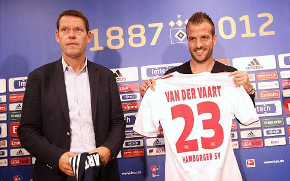 Arnesen delighted with Van der Vaart deal