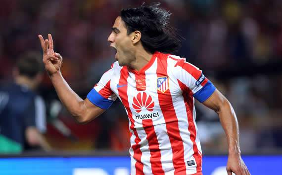 Atletico Madrid stars hail Falcao after hat-trick against Chelsea in Super Cup