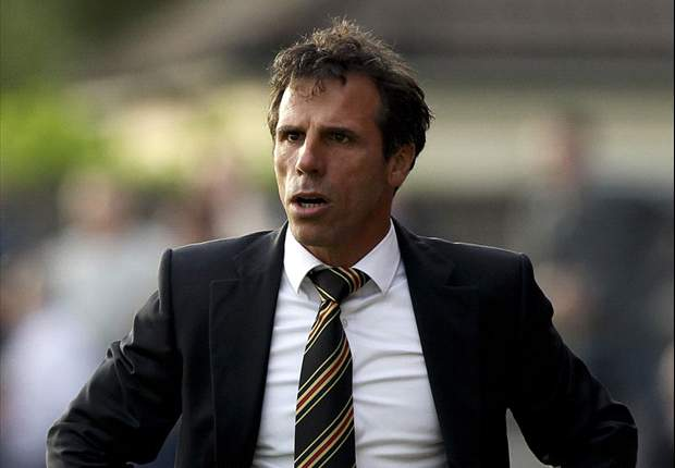 Gianfranco Zola: I didn't expect Mancini to become a manager