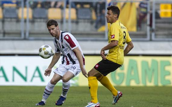 Marc Hcher vs Mark-Jan Fledderus (Roda JC - Willem II)