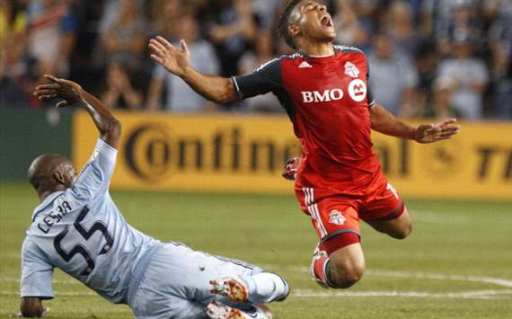 Julio Cesar, Sporting Kansas City; Aaron Maund, Toronto FC; MLS