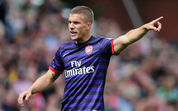 'When I'm on the pitch, I can win matches' - Podolski delighted after first Arsenal goal