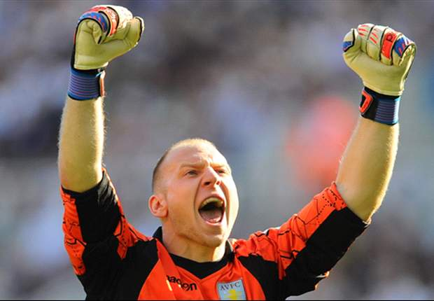 Guzan: Aston Villa on the right track under Lambert