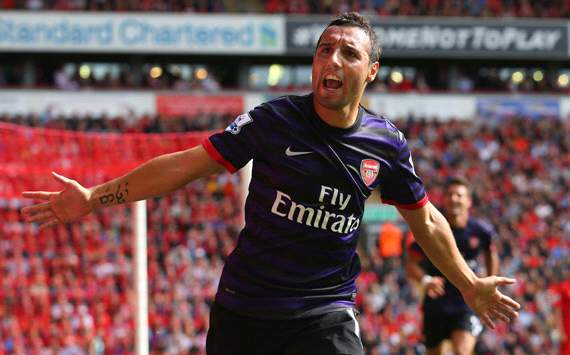Premier League Team of the Week: Cazorla &amp; Diaby star as Arsenal dominate our XI
