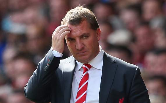 EPL, Liverpool v Arsenal, Brendan Rodgers