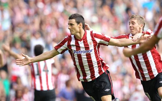 Aritz Aduriz, la revelacin de los goleadores 'terrenales' en la Liga BBVA