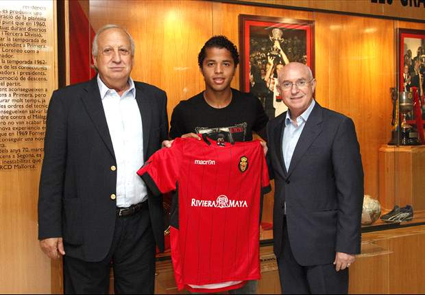 Giovani dos Santos set for Mallorca presentation