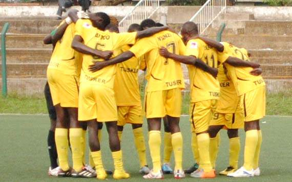 Champions Tusker back on top of the Kenya league summit after away victory