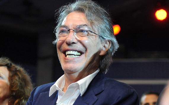 Inter doing better than expected, admits Moratti
