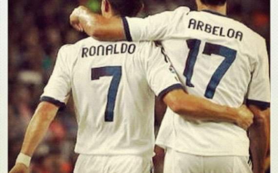 'Cristiano has the same smile as always' - Arbeloa