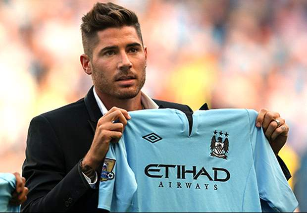 New Manchester City signing Javi Garcia proud to join 'biggest club in England'