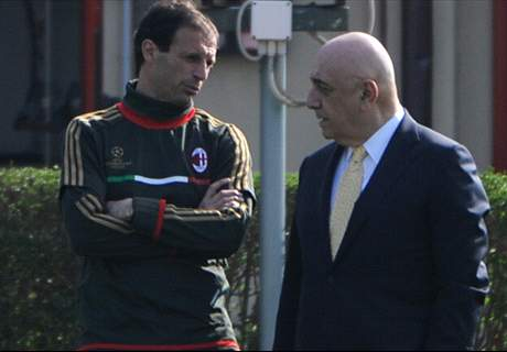 Allegri-Galliani: un caffè e addio Milan?