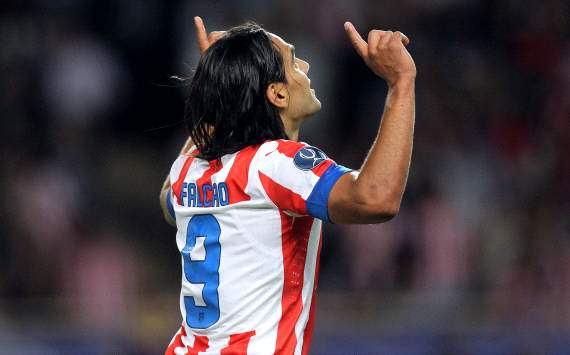 Falcao s quiere jugar en el Madrid
