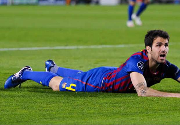 I am happy at Barcelona, insists Fabregas