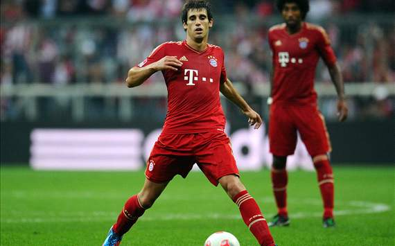 Javi Martnez, titular en el Bayern Munich frente al Valencia