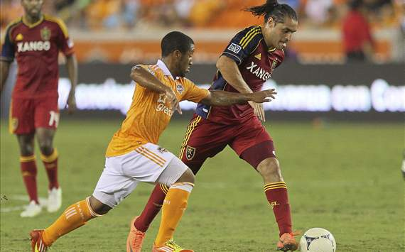 Corey Ashe, Houston Dynamo; Fabian Espindola, Real Salt Lake; MLS